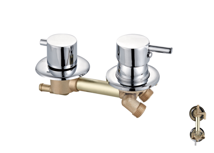 Shower Room Two,Third Two Faucets-HX-6213