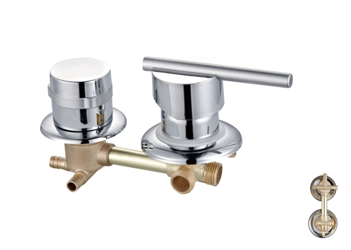 Shower Room Two,Third Two Faucets-HX-6215