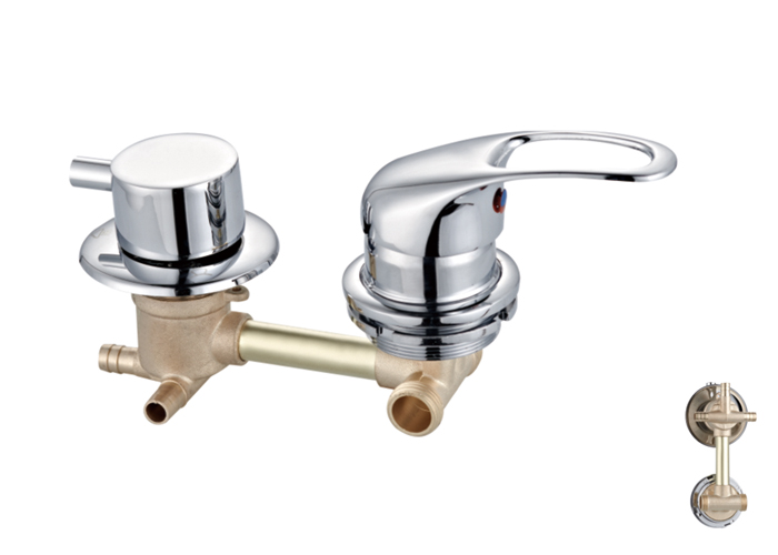 Shower Room Two,Third Two Faucets-HX-6216