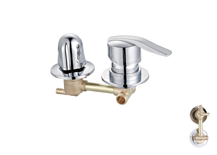 Shower Room Two,Third Two Faucets-HX-6221