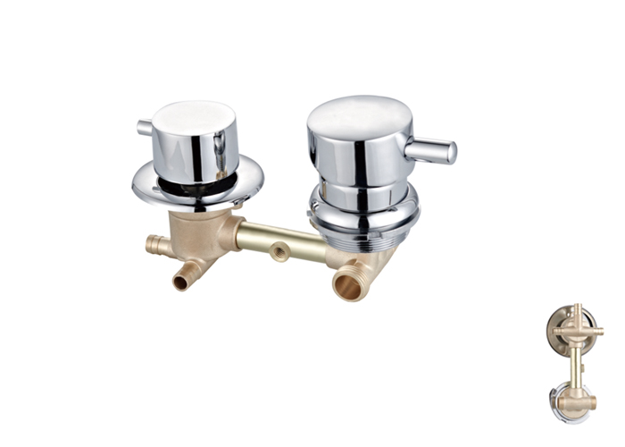 Shower Room Two,Third Two Faucets-HX-6224
