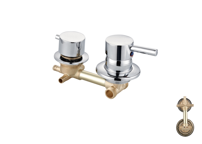 Shower Room Two,Third Two Faucets-HX-6237