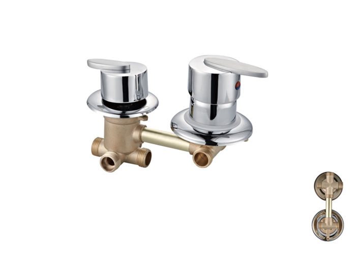 Shower Room Two,Third Two Faucets-HX-6238