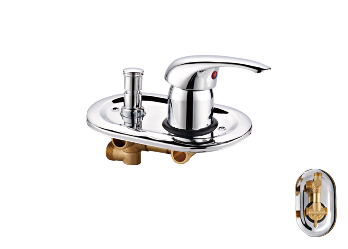 Shower Room Two,Third Two Faucets-HX-6239