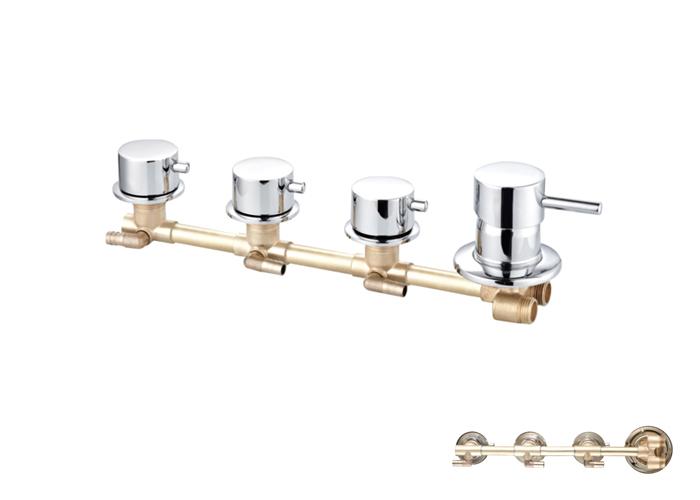 Shower Siamese Faucets-HX-6513