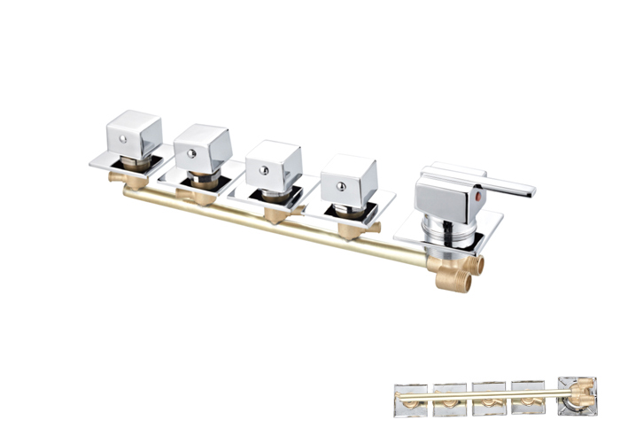 Shower Siamese Faucets-HX-6514
