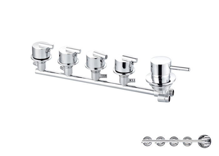 Shower Siamese Faucets-HX-6515